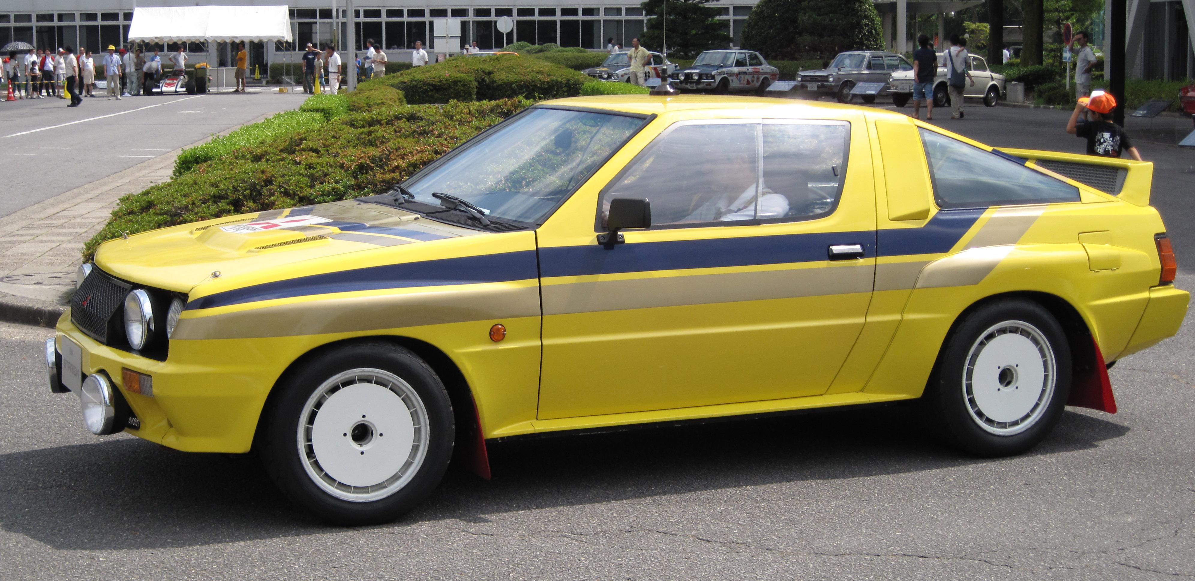 World Rally World: Mitsubishi Starion 4WD