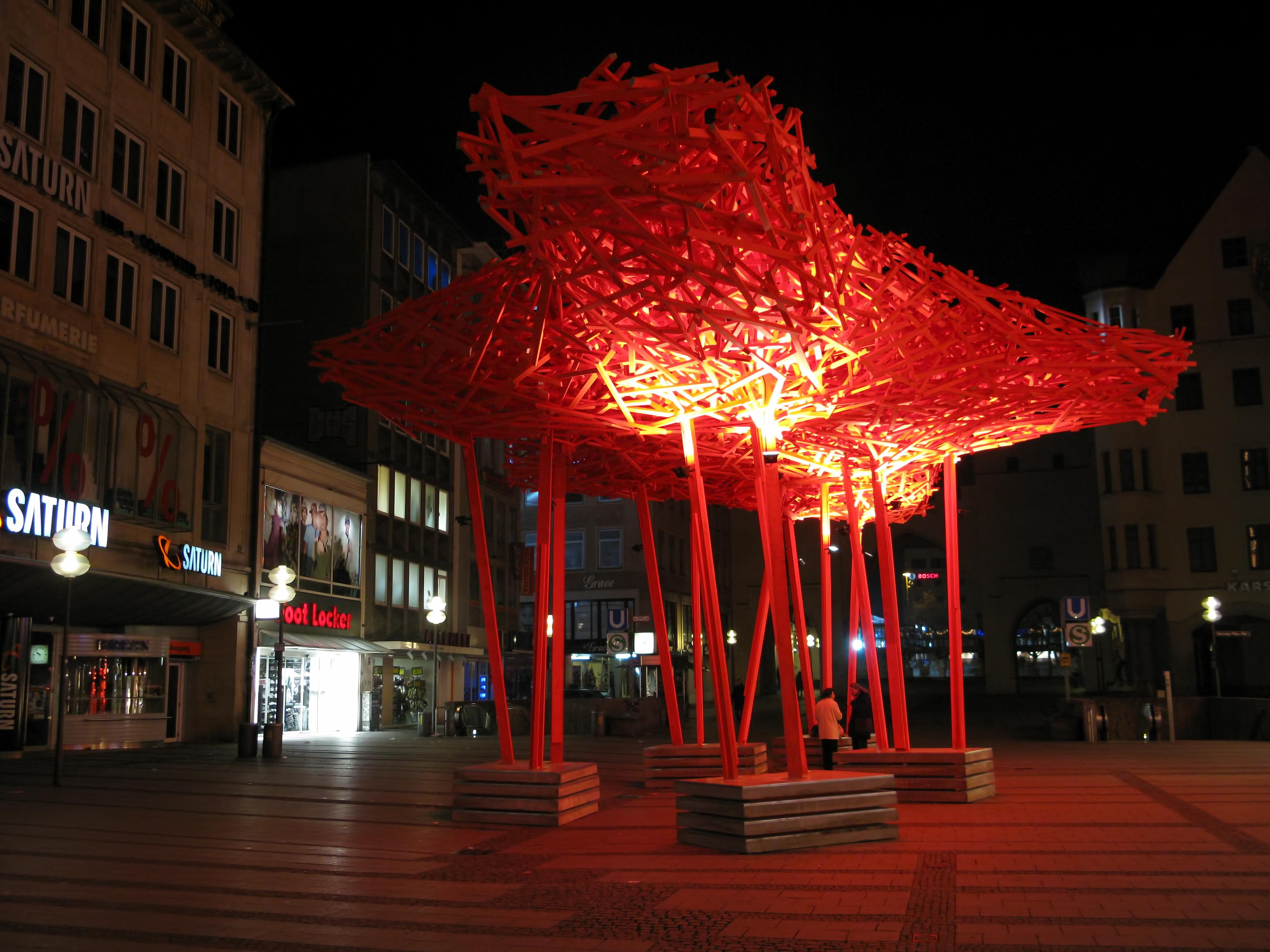 File:Neuhauser Straße München Altstadt Innenstadt Nacht1 ...