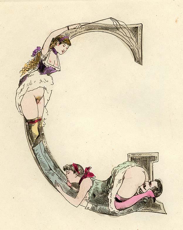 Nineteenth-century erotic alphabet G.jpg