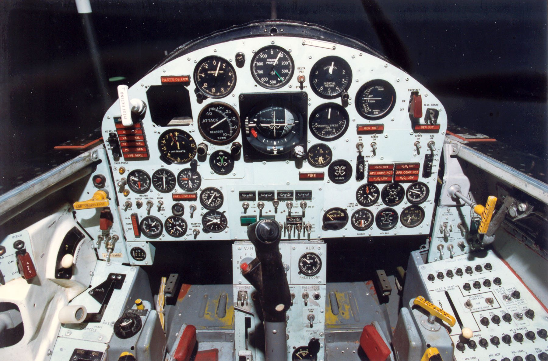 X15 Cockpit  NASA