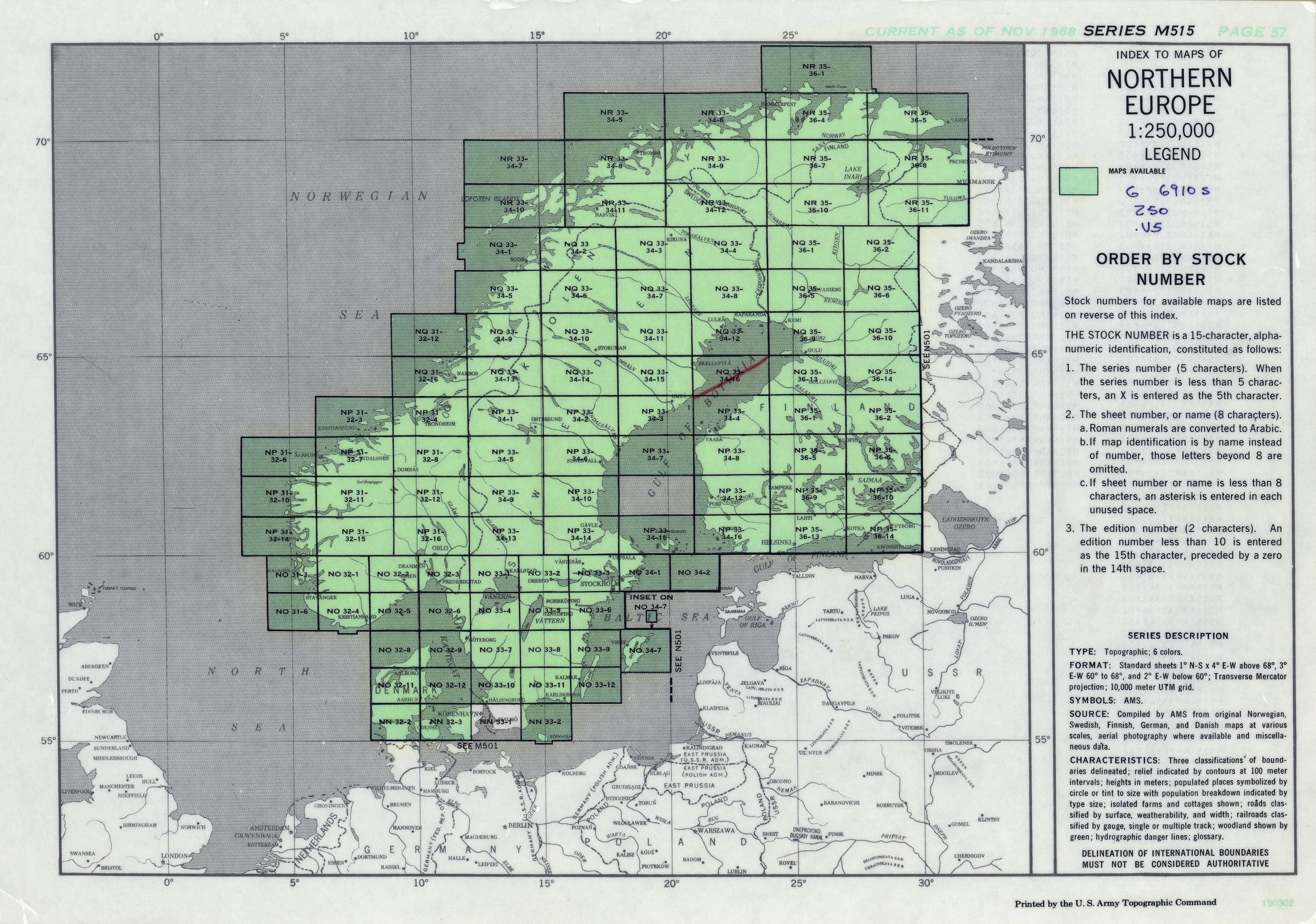 File:Northern Europe, Series M515, U.S. Army Map Service ...