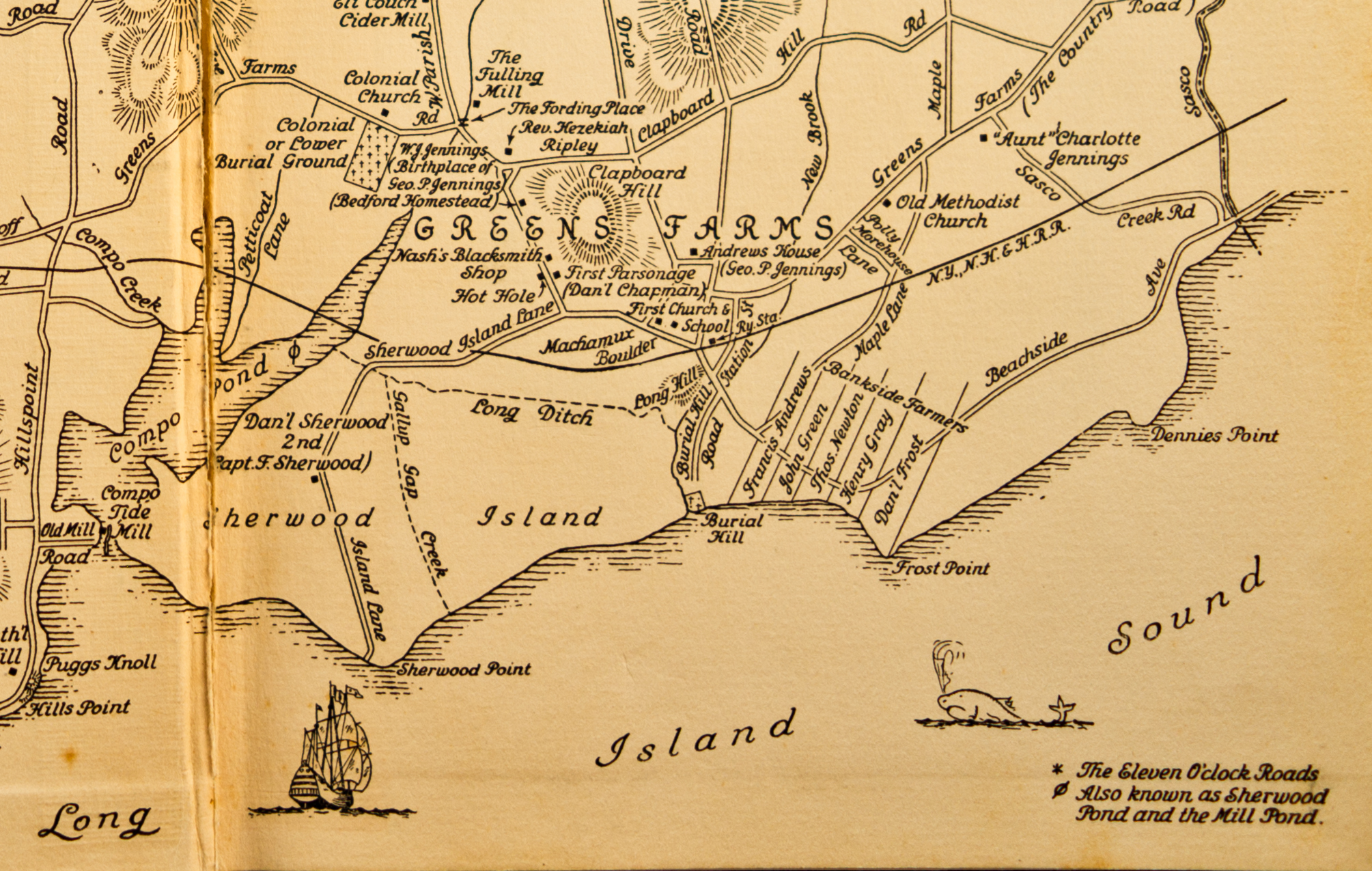 fileold map of westport ct showing greens farms. fileold map of westport ct showing greens farms  wikimedia