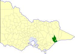 Shire of Bairnsdale Local government area in Victoria, Australia