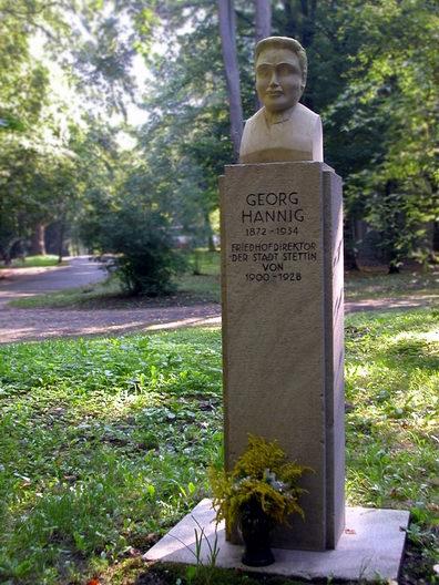 Pomnik upamiętniający Georga Hanniga