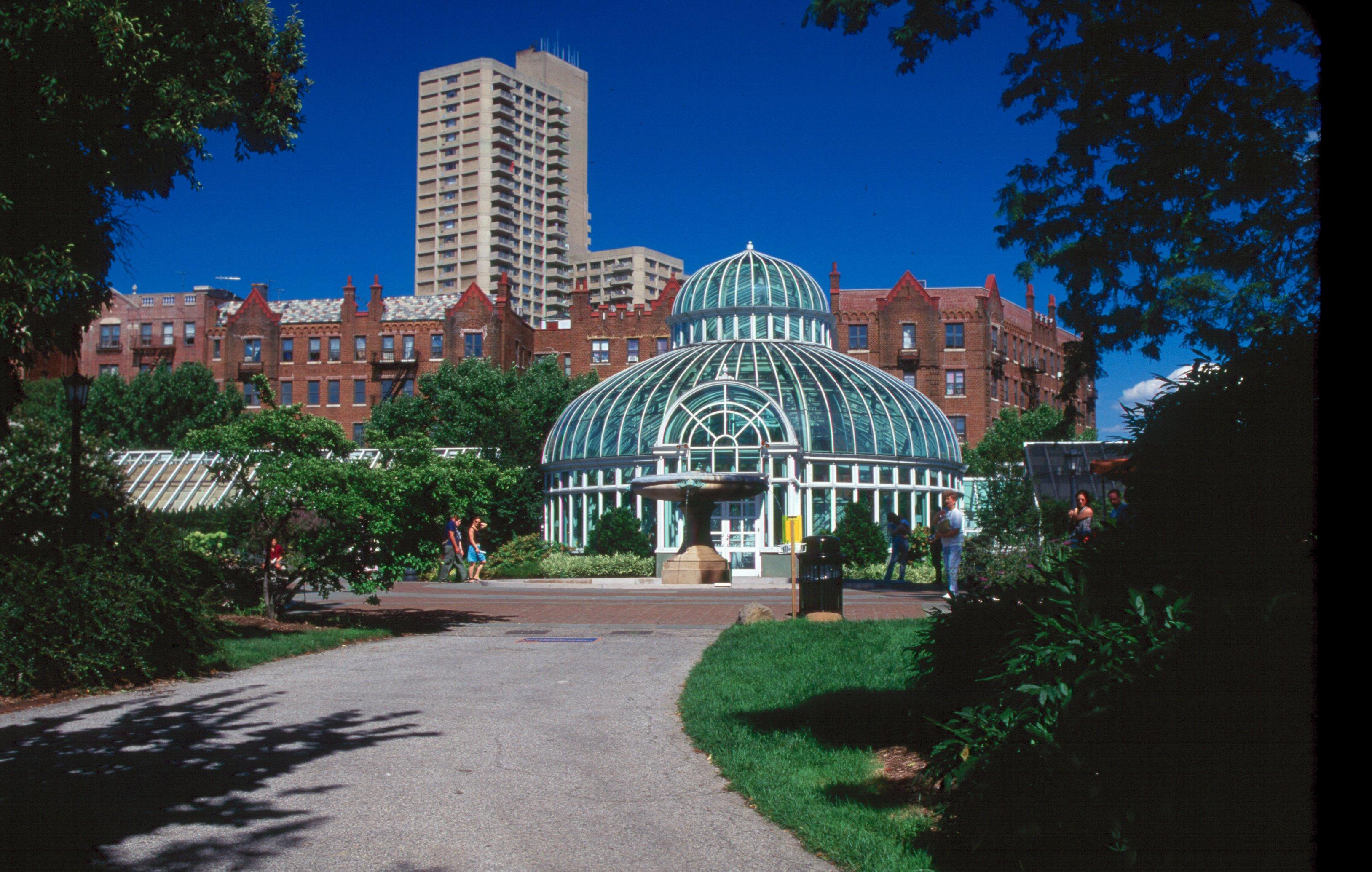 Palm House At Brooklyn Botanic Garden Garden Ftempo