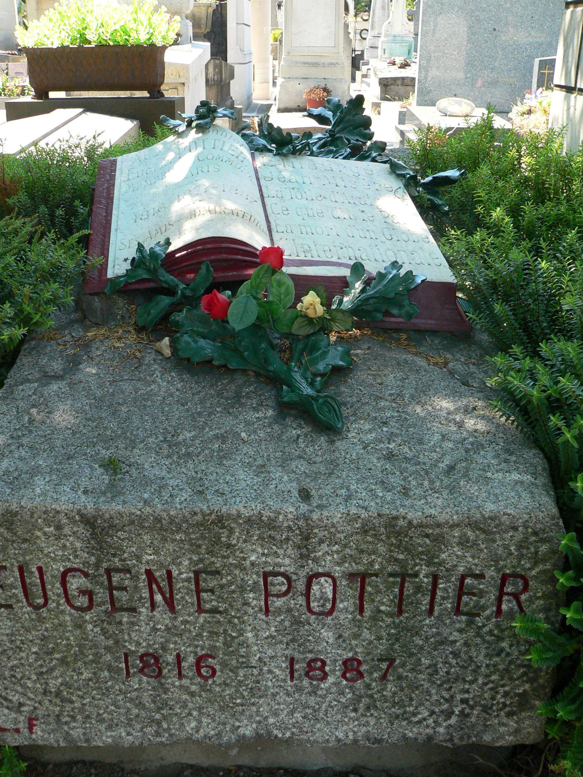 Tumba de Eugène Pottier.