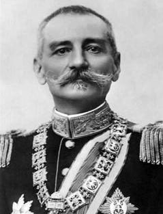 Depiction of Pedro I de Serbia
