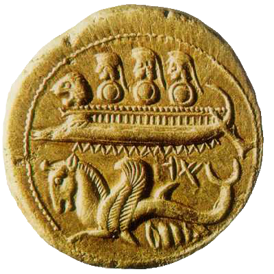 Ancient Phoenician coin.