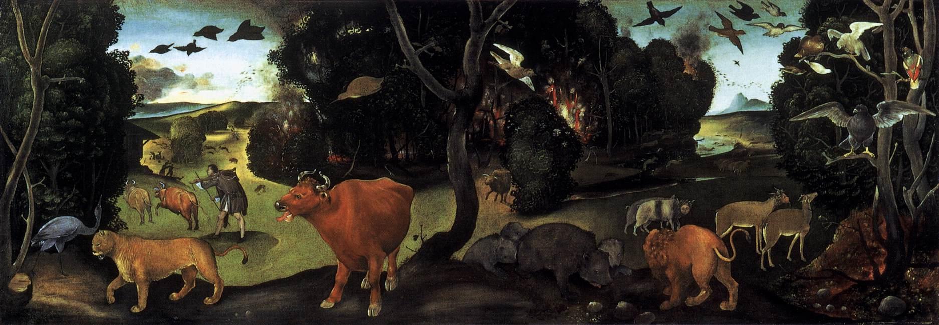 File Piero Di Cosimo Incendio Nella Foresta Jpg