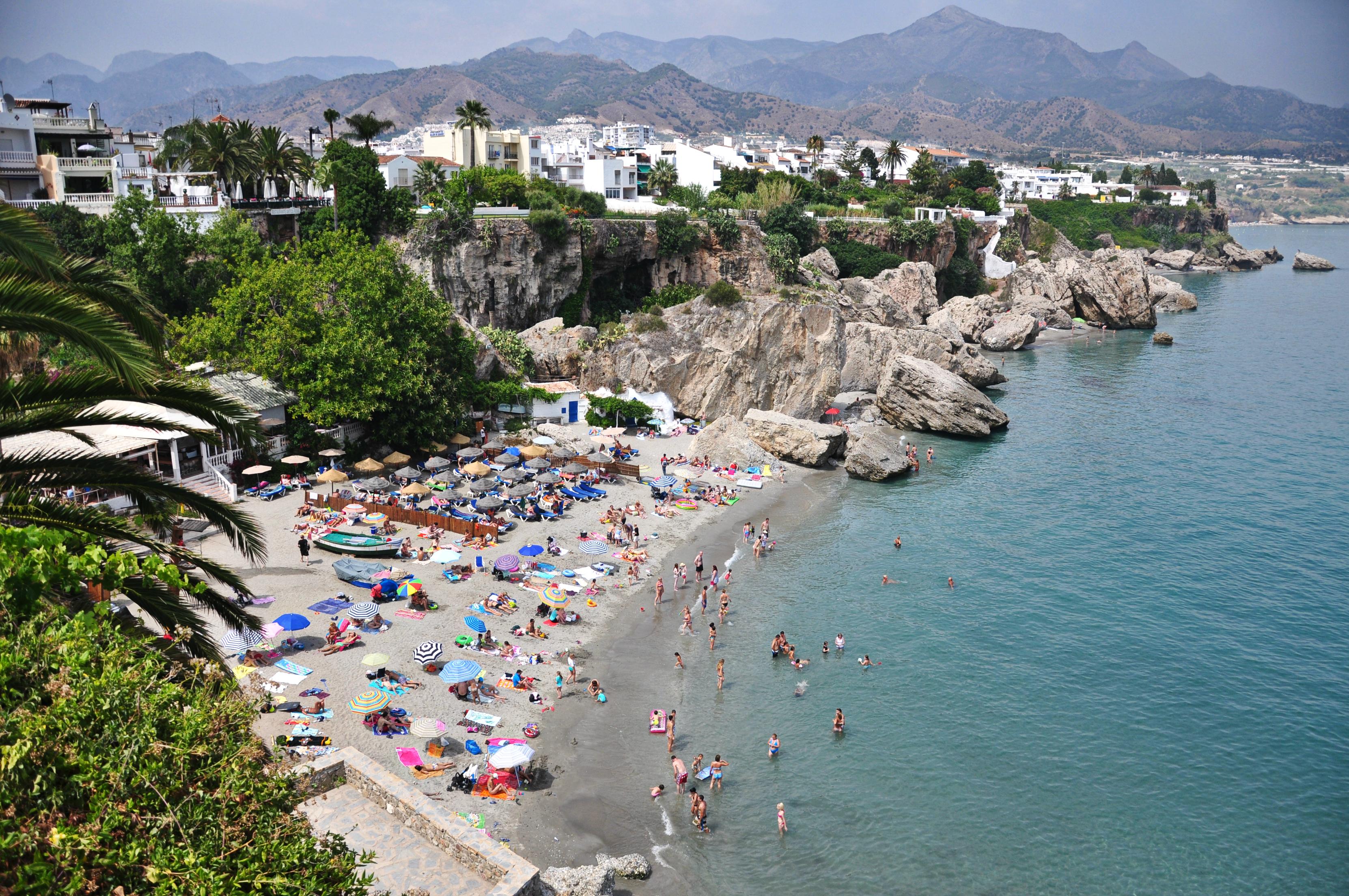 Calahonda, zee, strand