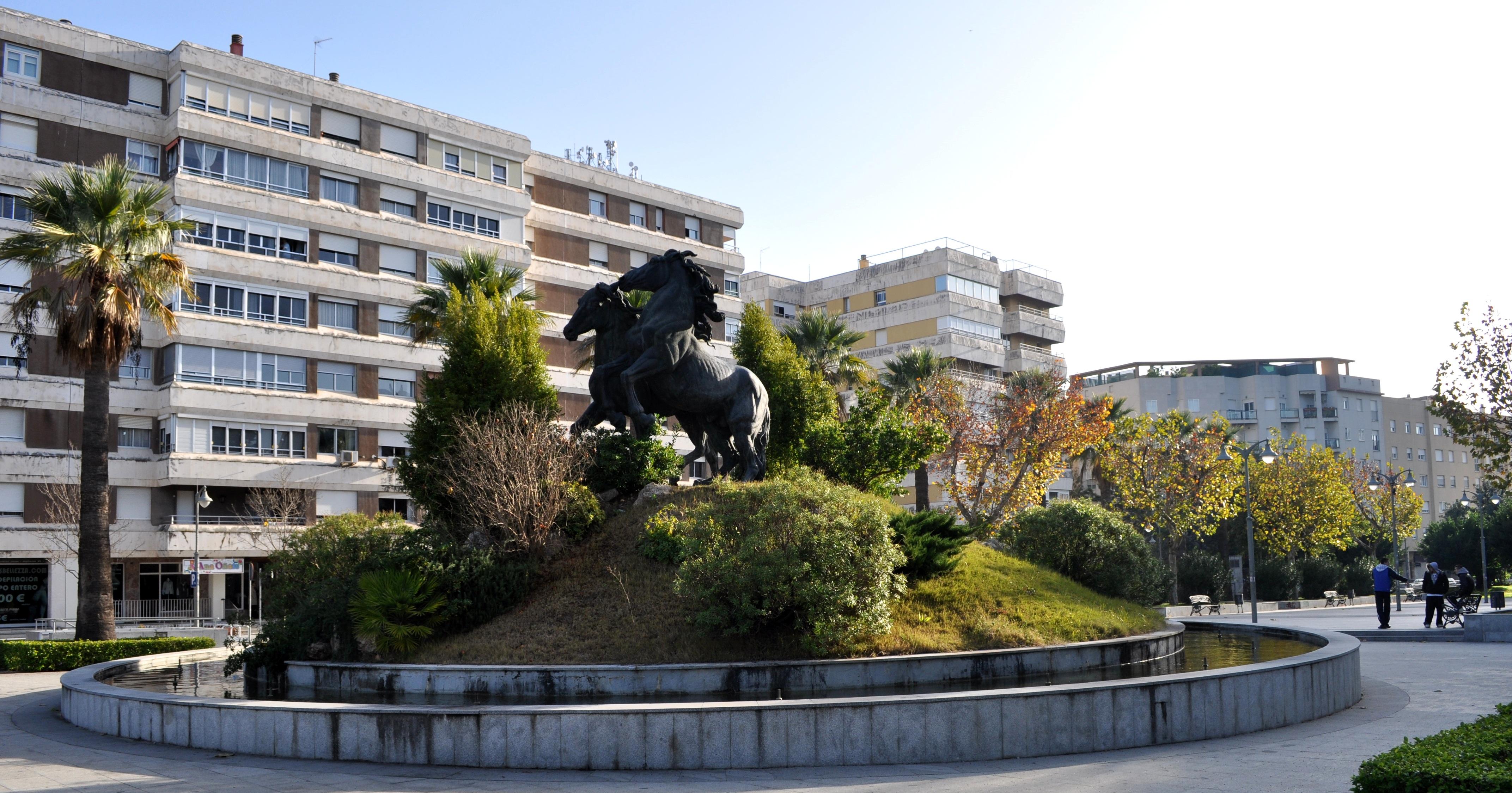 File plaza del caballo avenida alcalde alvaro domecq jerez for En jerez de la frontera