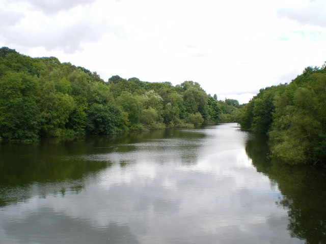 Randlay Pool from the south - geograph.org.uk - 924177