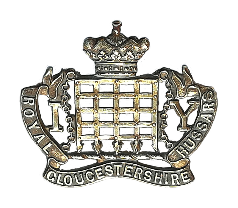 Britain//British Army Gloucestershire Regiment  Cap Badge in metal Glosters