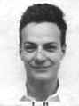 English: American physicist Richard Feynman Po...