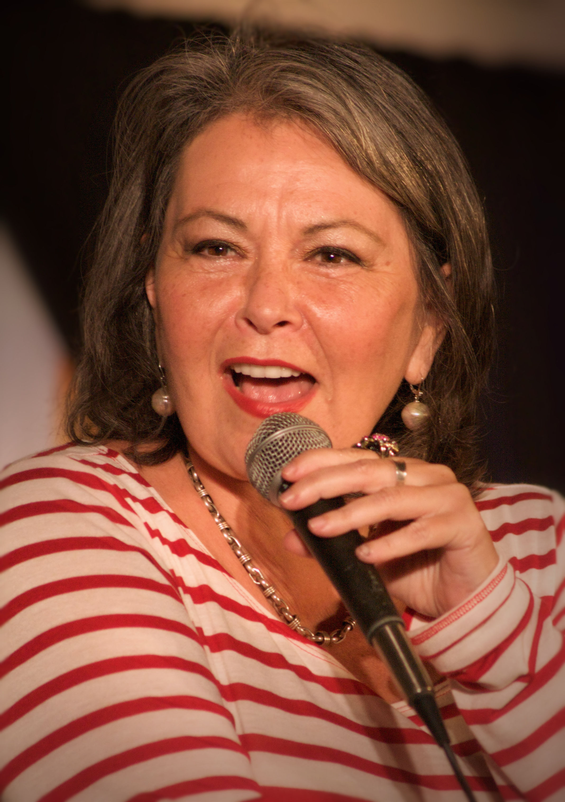The 65-year old daughter of father Jerome Hershel Barr and mother Helen Davis Roseanne Barr in 2018 photo. Roseanne Barr earned a  million dollar salary - leaving the net worth at 80 million in 2018