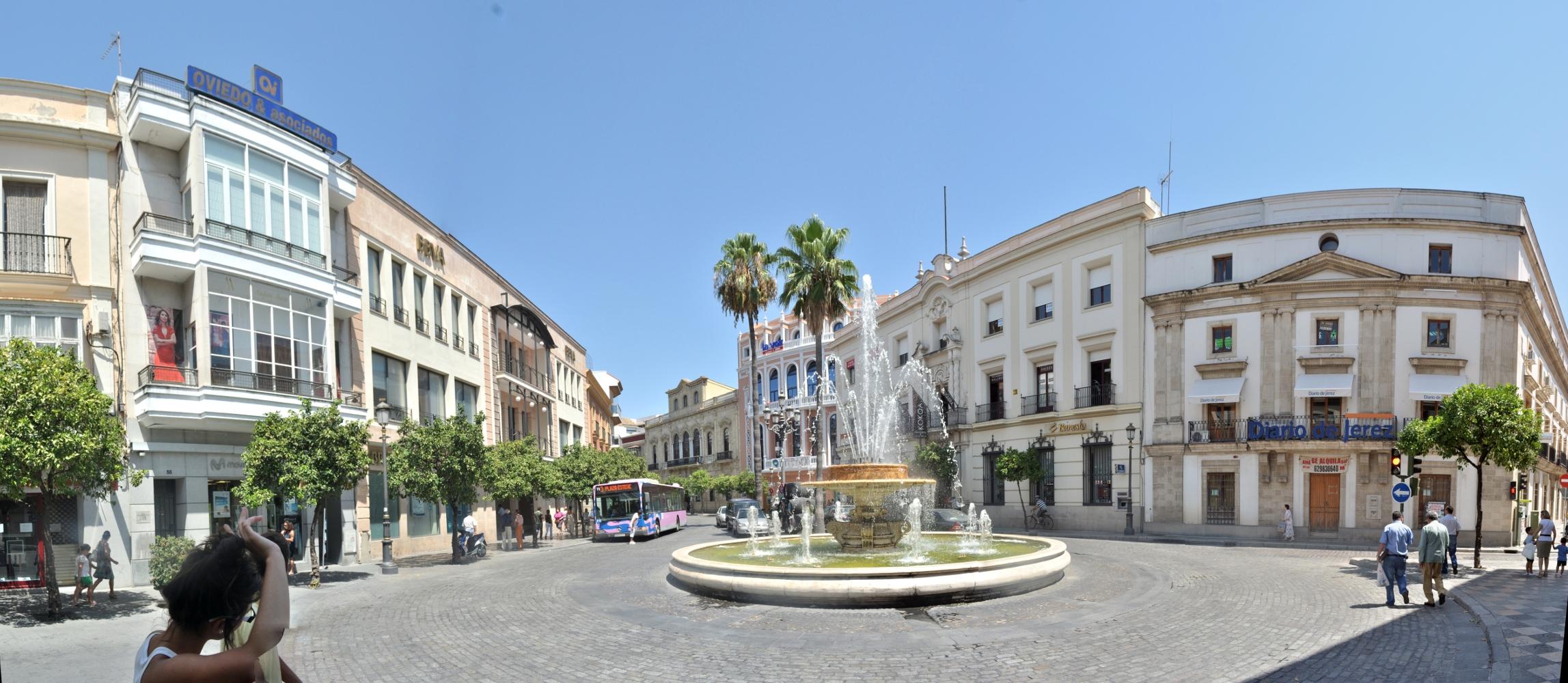 Archivo rotonda casino panoramica jerez wikipedia for Calle prado jerez madrid
