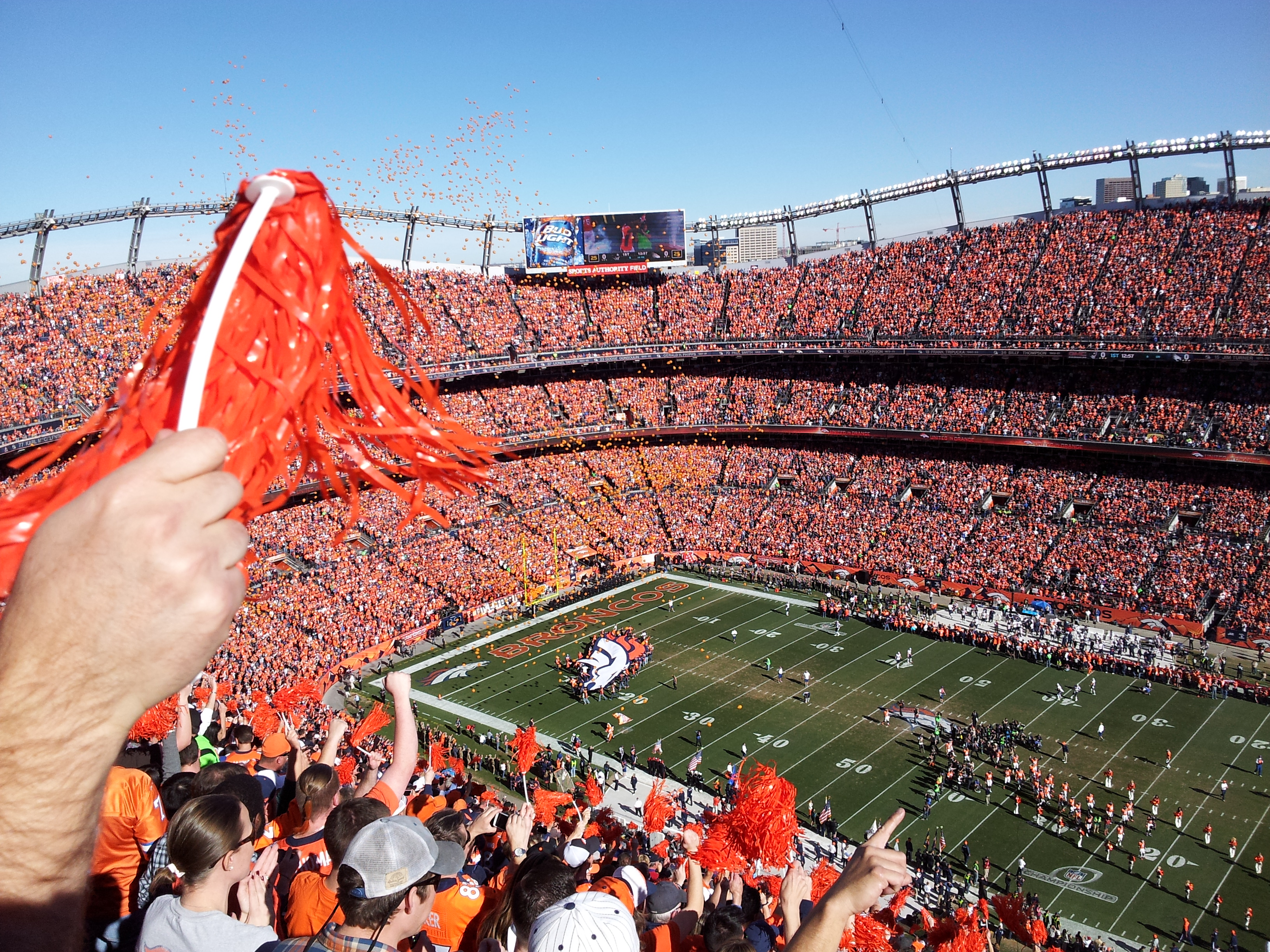 Image result for broncos stadium