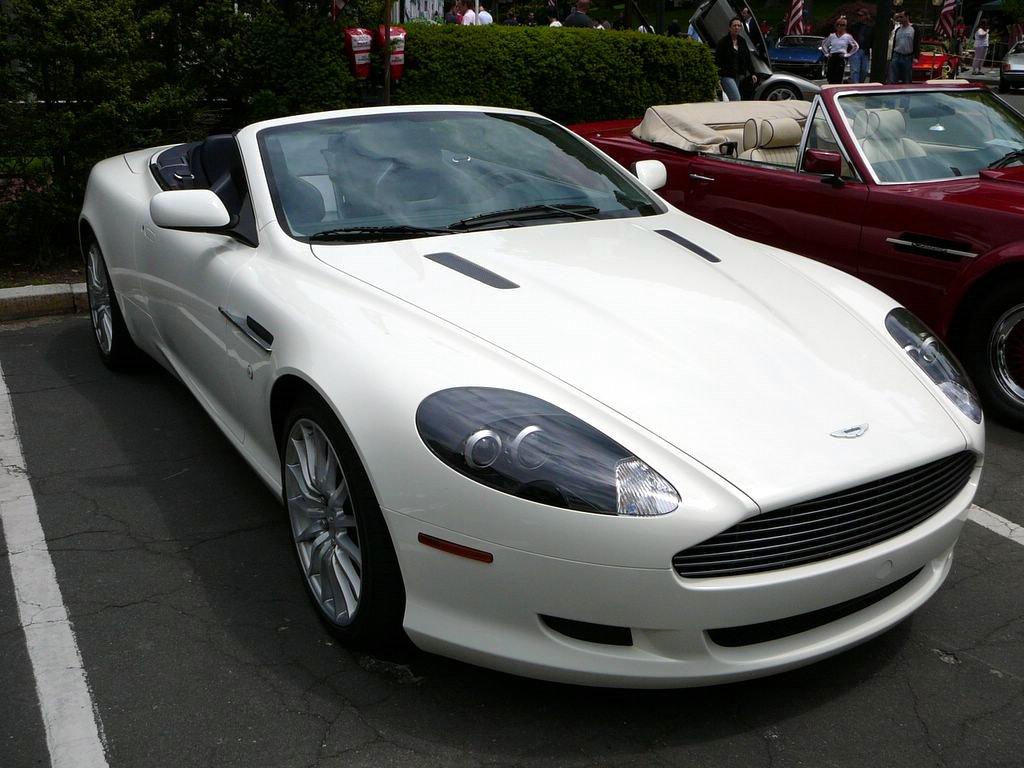 Aston Martin Db9 White