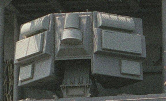 الطراد الأمريكي تايكندروجا SLQ-32_antenna_USS_Nicholson_(DD-982)
