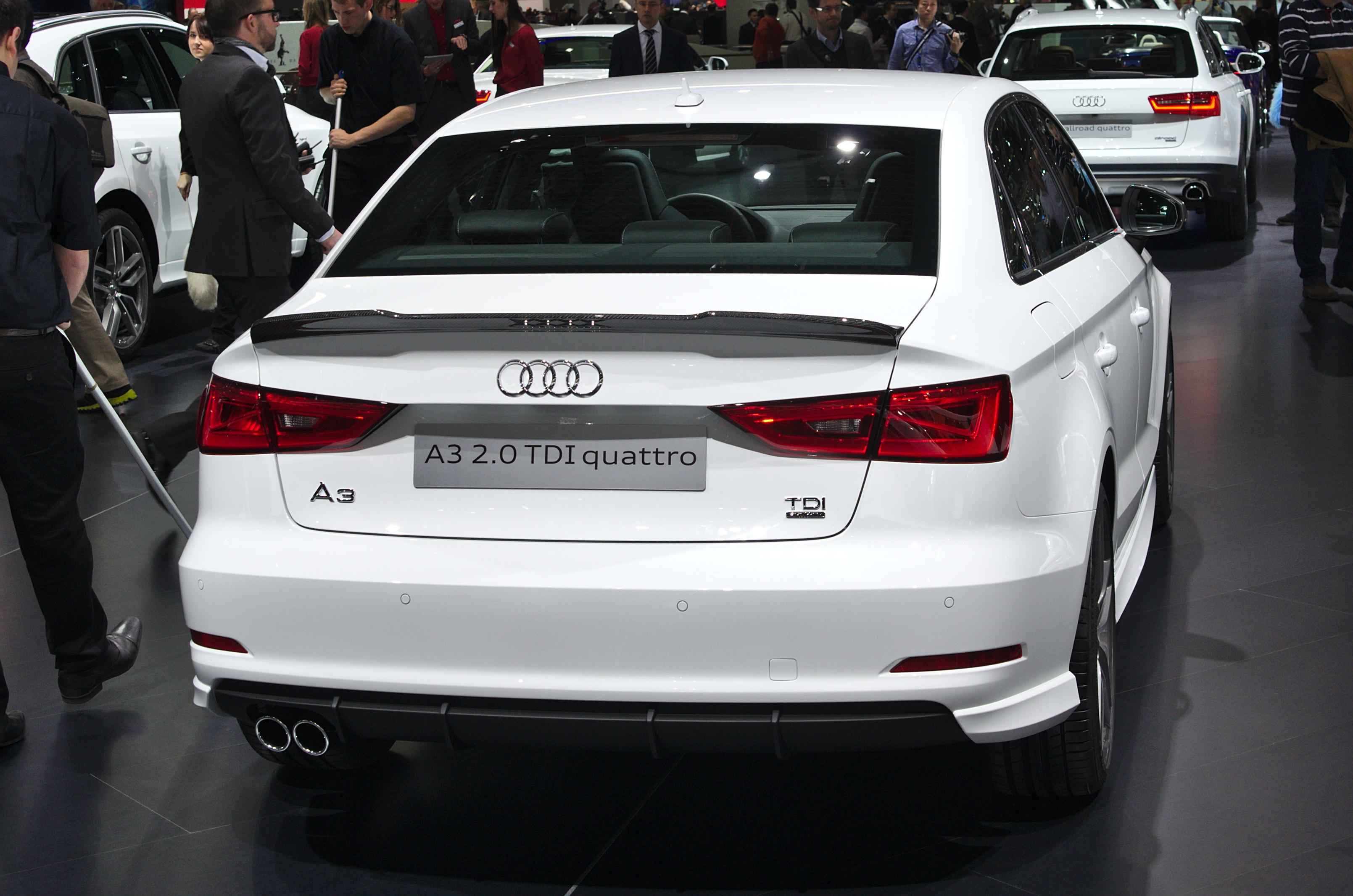 File Salon De L Auto De Geneve 2014 20140305 Audi A3 2 0 Tdi