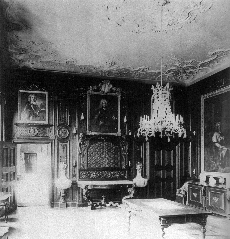 Dateischloss Nordkirchen Speisezimmer 1891jpg Wikipedia