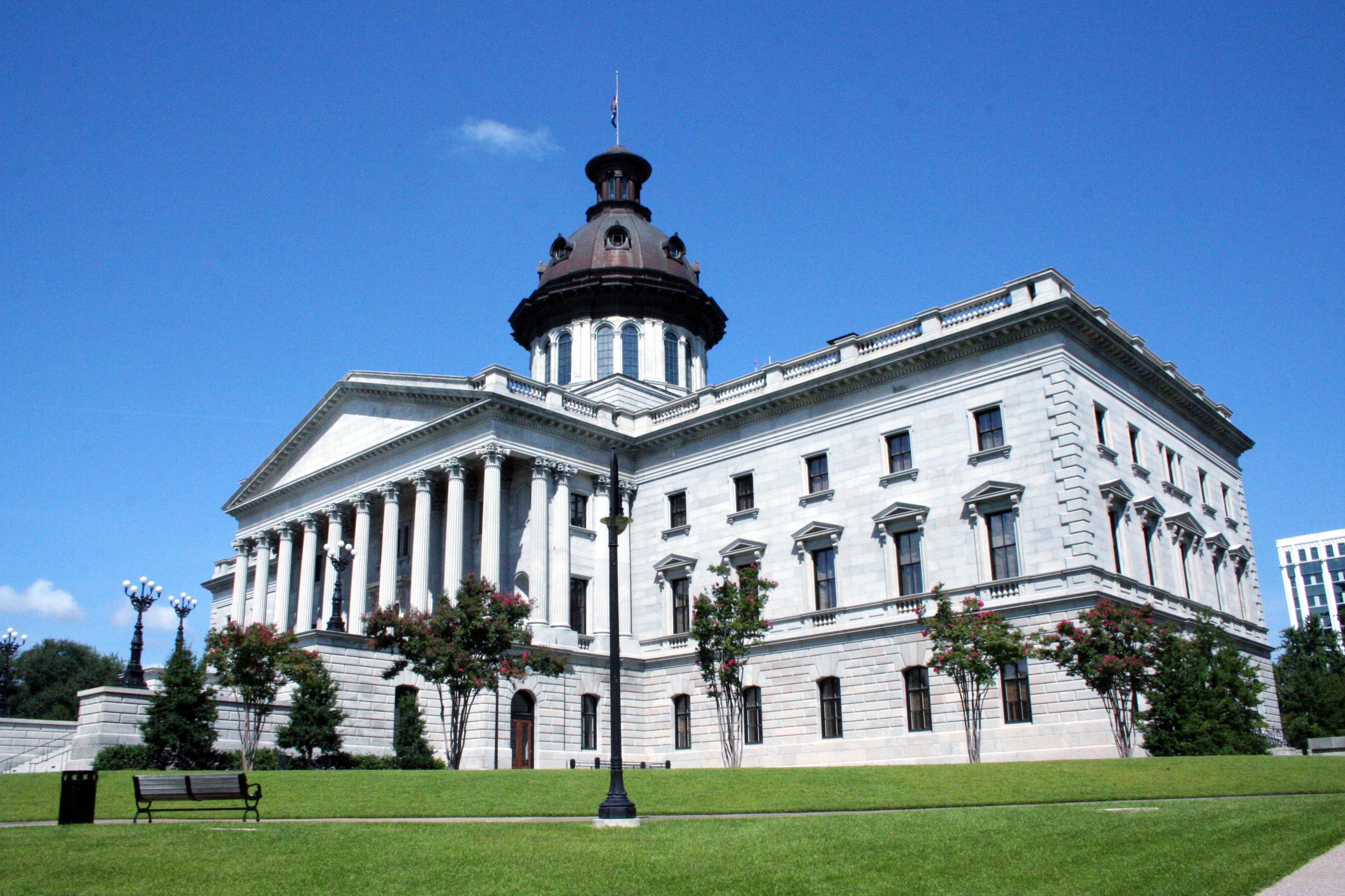 The south carolina state house capital building real for Builders in south carolina