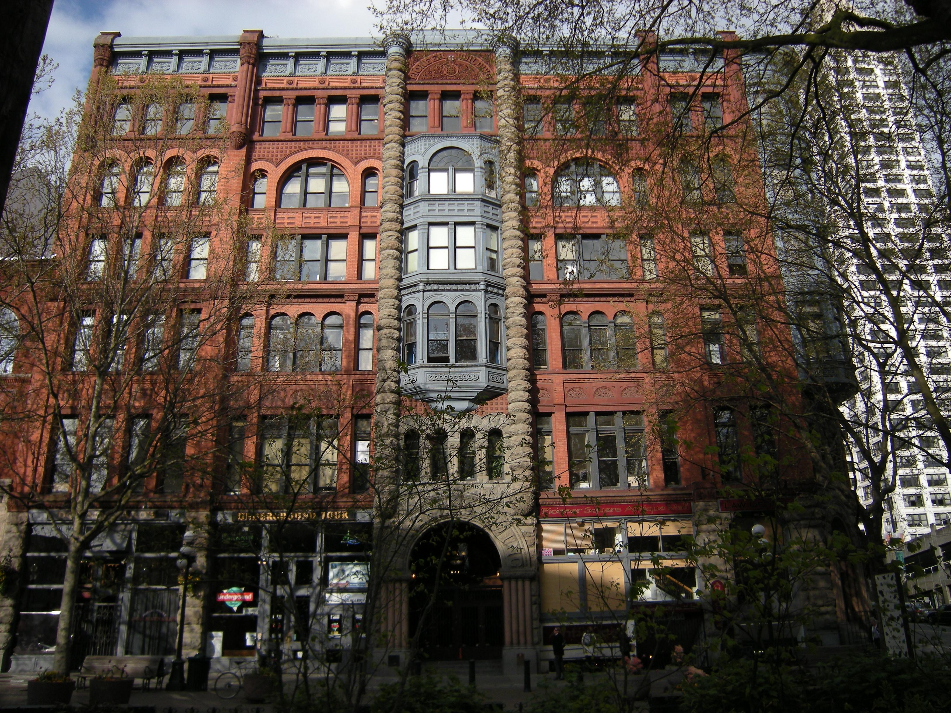 Pioneer Building (Seattle) - Wikipedia