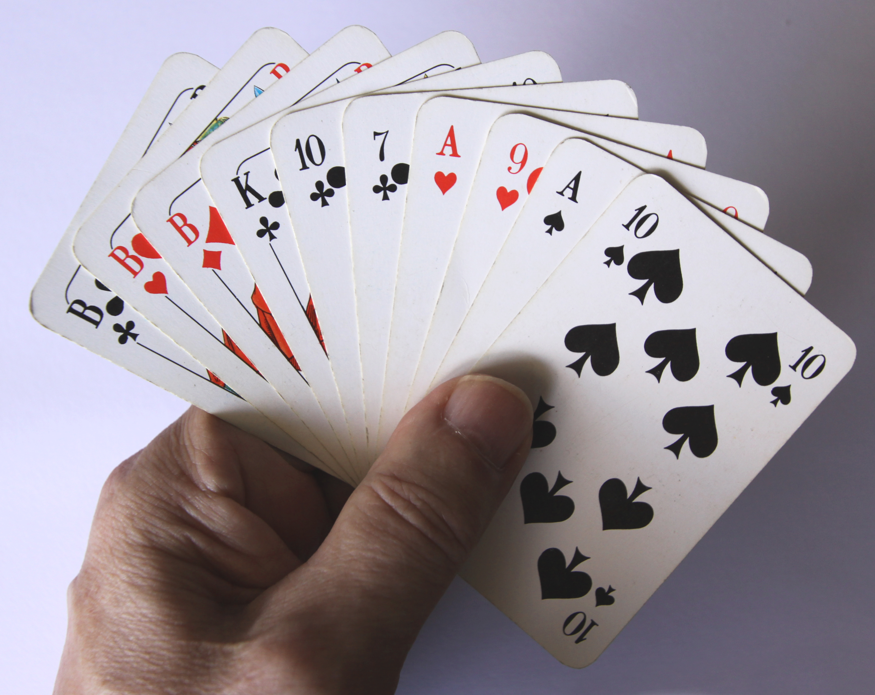 Skatblatt Anzahl Karten