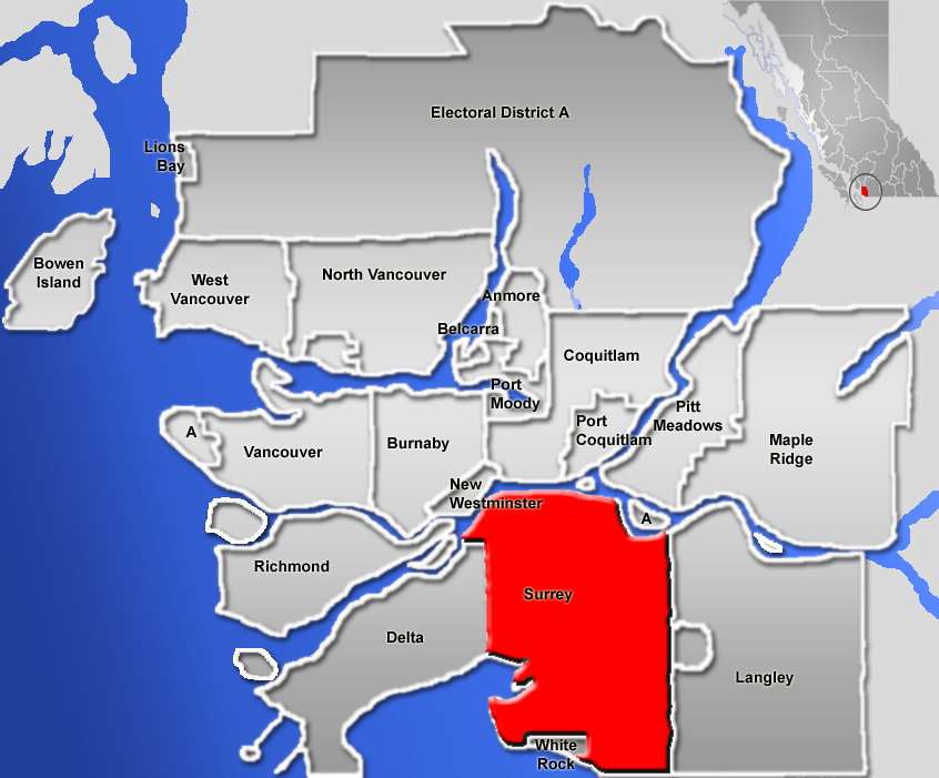 Surrey British Columbia  Simple English Wikipedia The