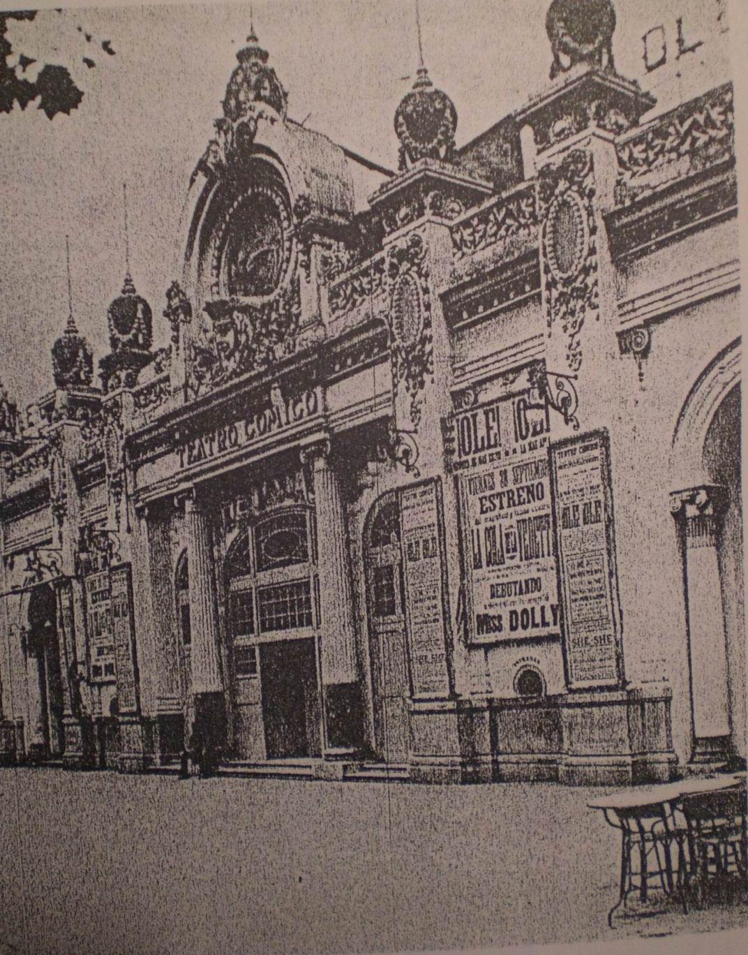 Teatre c mic viquip dia l 39 enciclop dia lliure - Calle manso barcelona ...