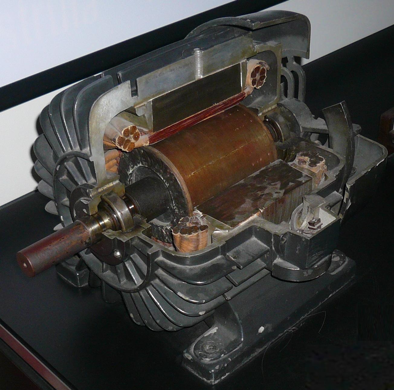 File tesla 39 s three phase asynchronous for Three phase asynchronous motor