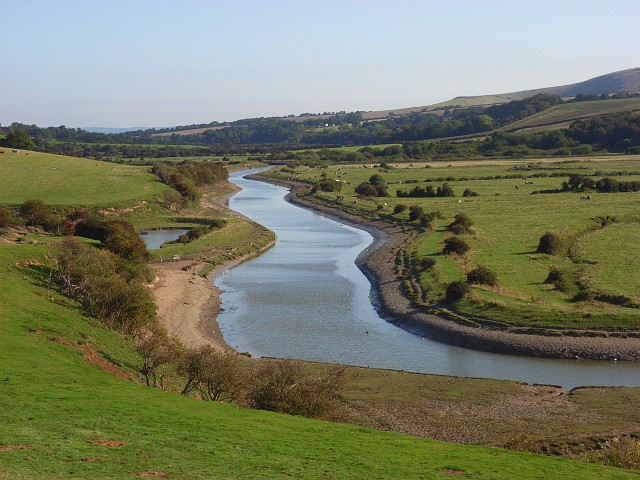 The Cuckmere River, Exceat - geograph.org.uk - 946697