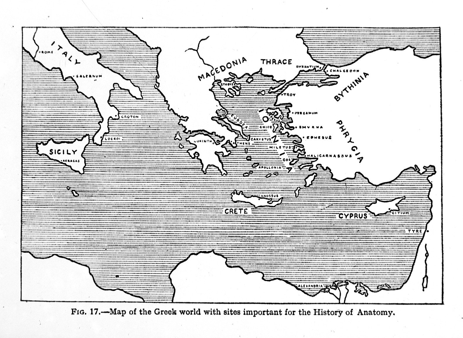 Filethe Greek World With Sites For History Of Anatomy Wellcome