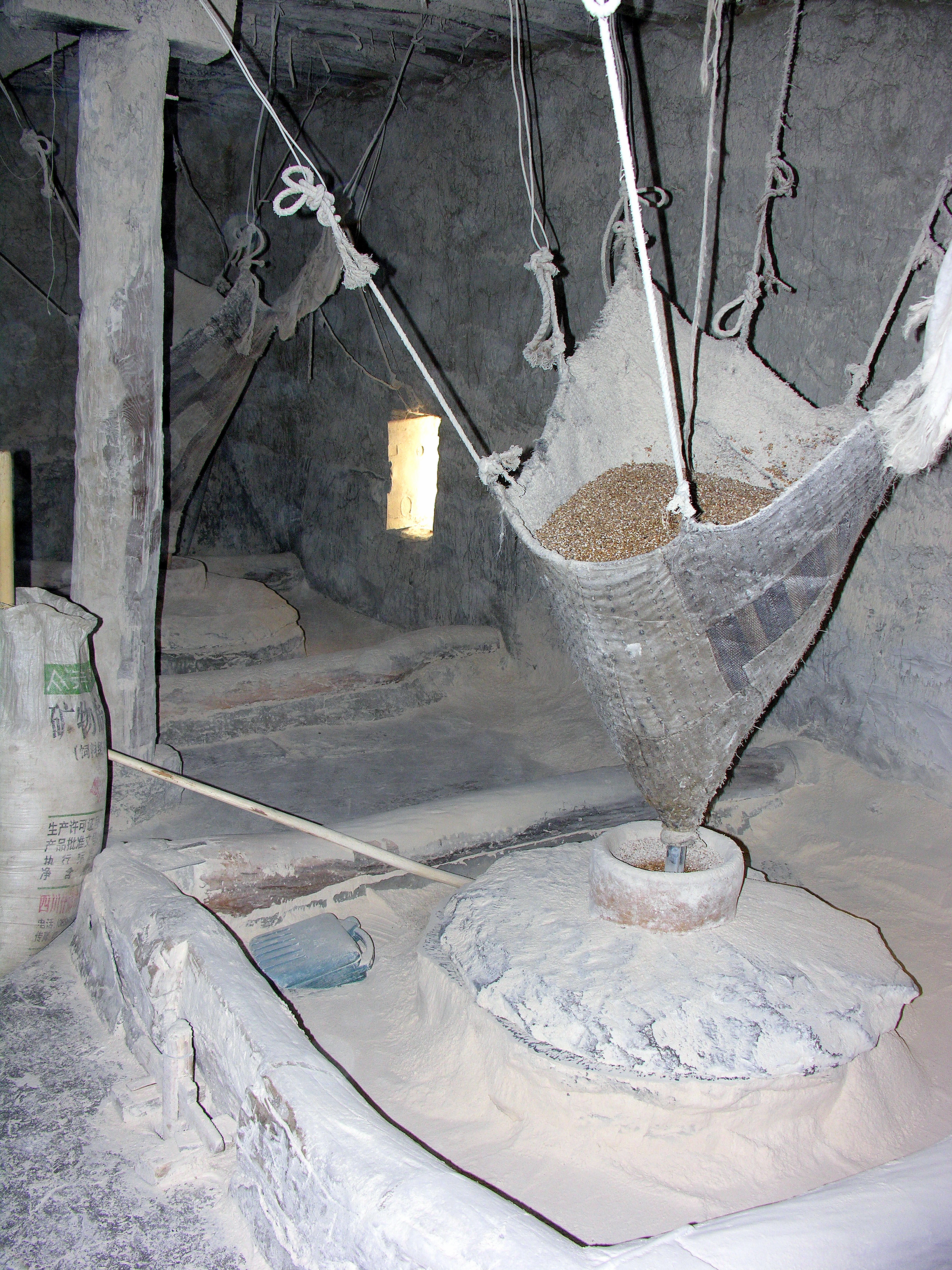Tibetan flour mill