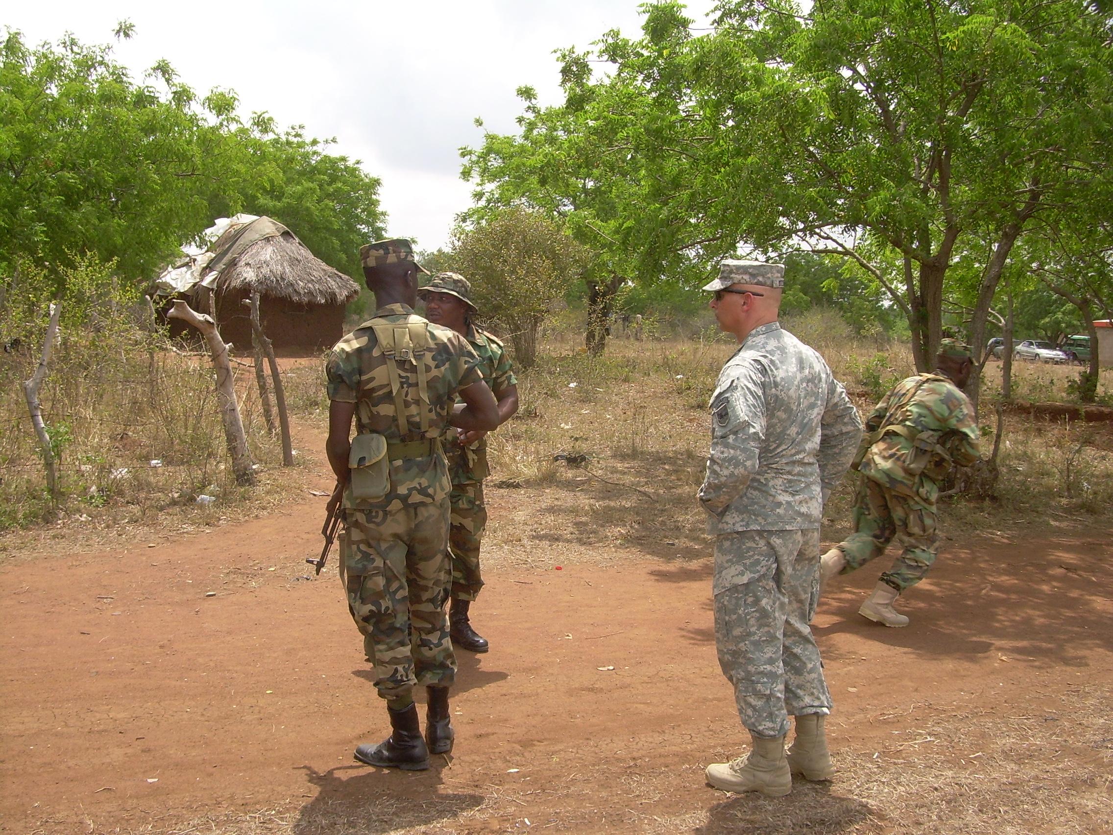 File:U.S. Army Africa 'Train the Trainers' in Ghana 01 ...