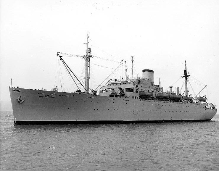USNS Fred C. Ainsworth (T-AP-181)