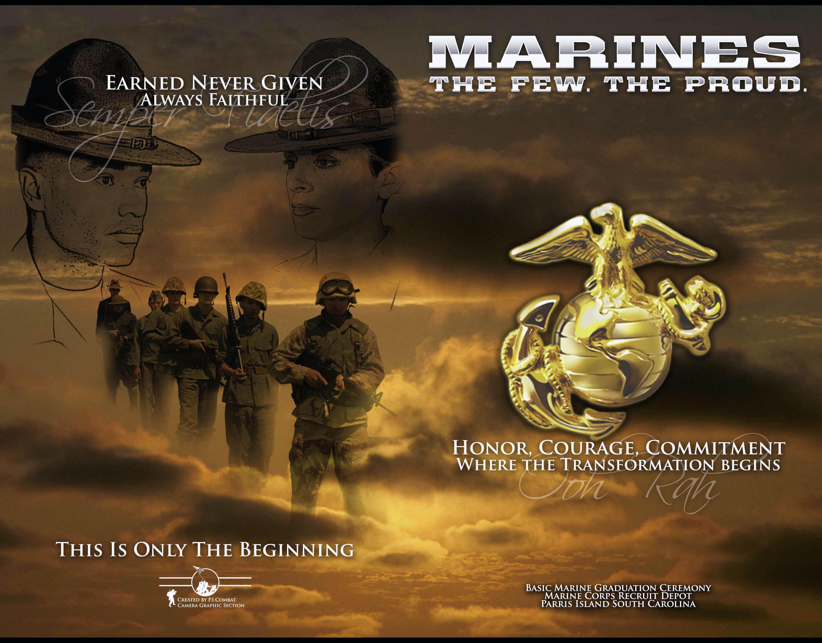 Description US Navy 070713-M-4302K-001 The official graduation program