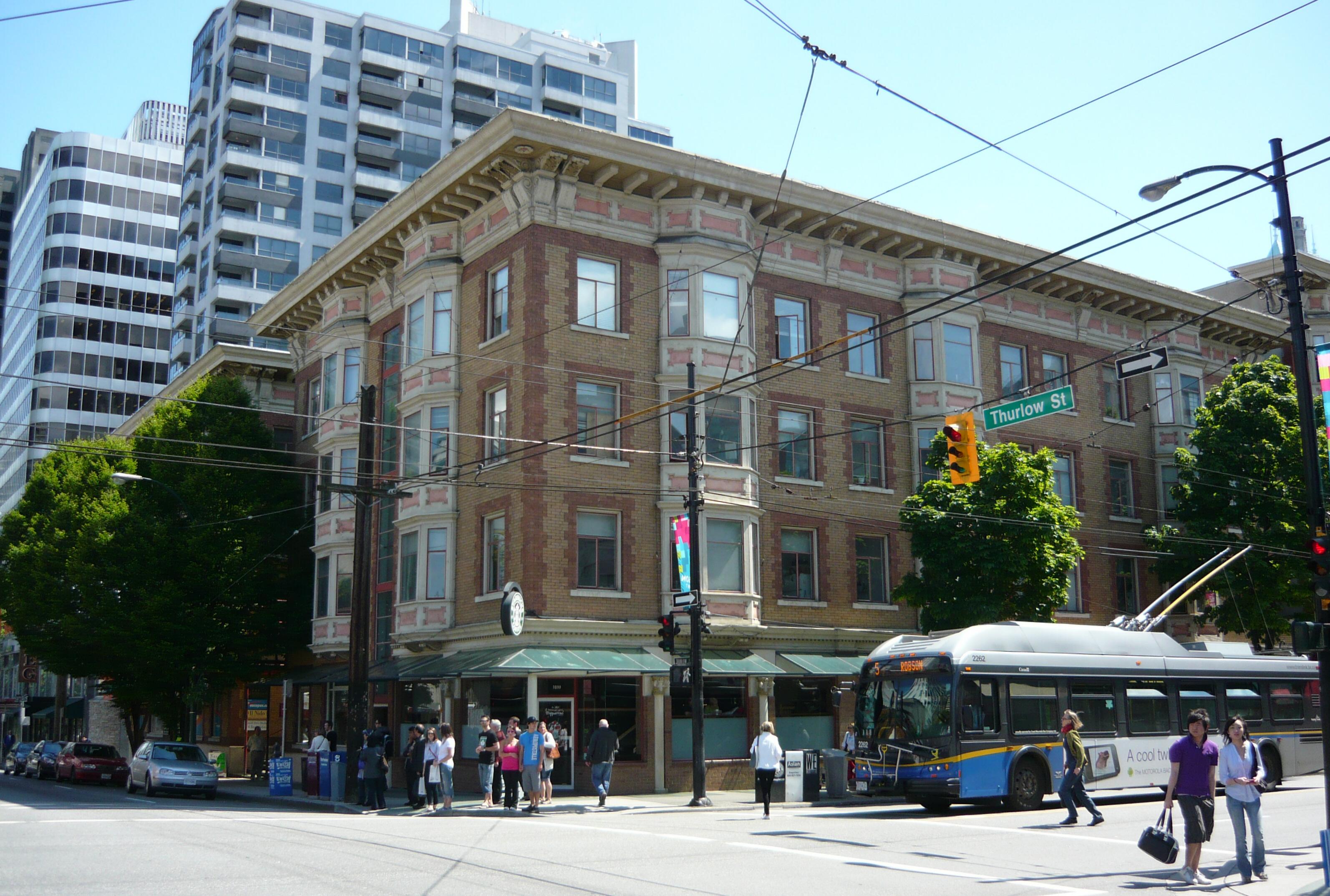 Revolving Restaurant On Davie Street Vancouver