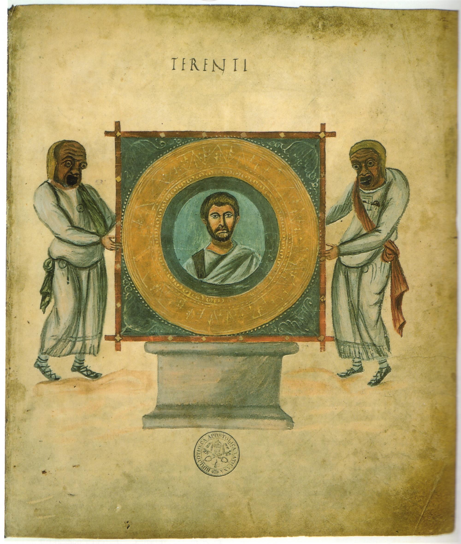 Frontespizio del ''Codex Vaticanus Latinus 3868'' ([[Biblioteca Vaticana