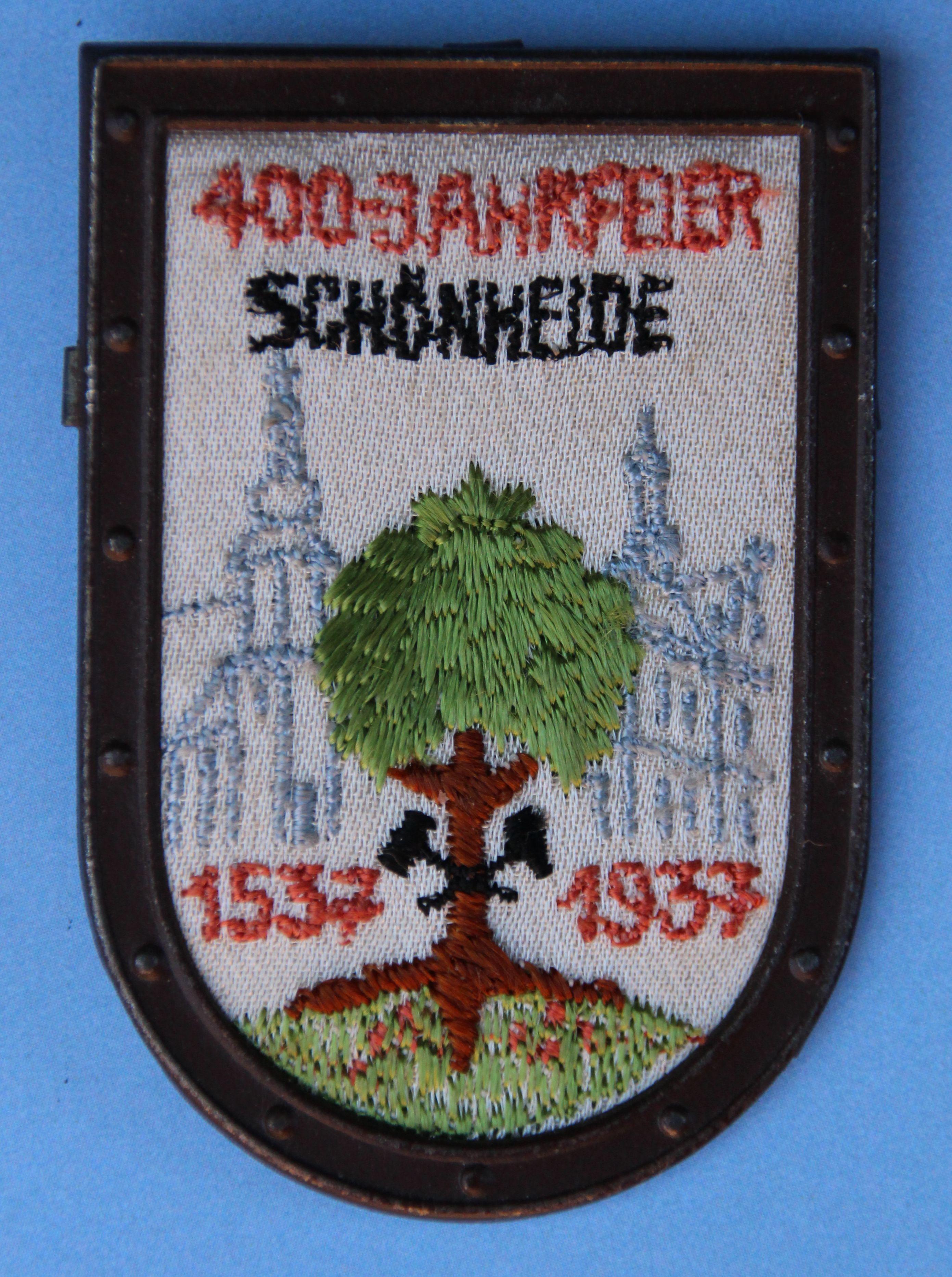 Lutherjahr 1937: Vierhundert-Jahr-Feier in Schönheide (Erzgebirge)