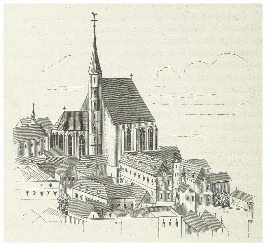 WEISS(1872) p270 Das Minoritenkloster.jpg