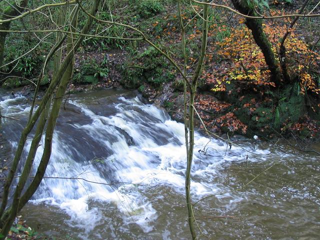 Waterfall in Wepre Park - geograph.org.uk - 285184