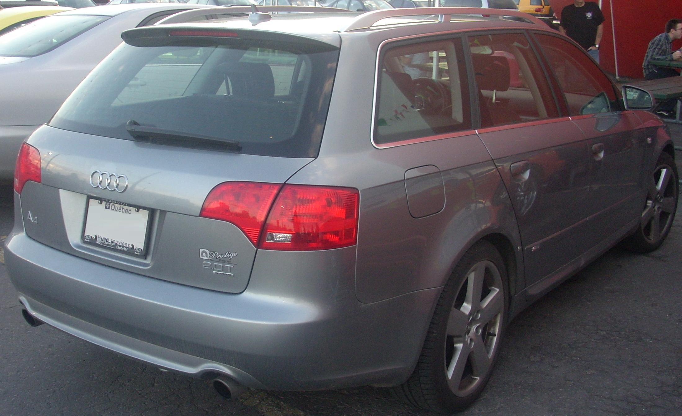 File 05 08 Audi A4 Avant S Line 2 0 Rear Orange Julep