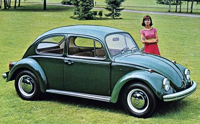 21m VW Beetles were sold and it is a generational icon of the 1960s and 1970s[75]