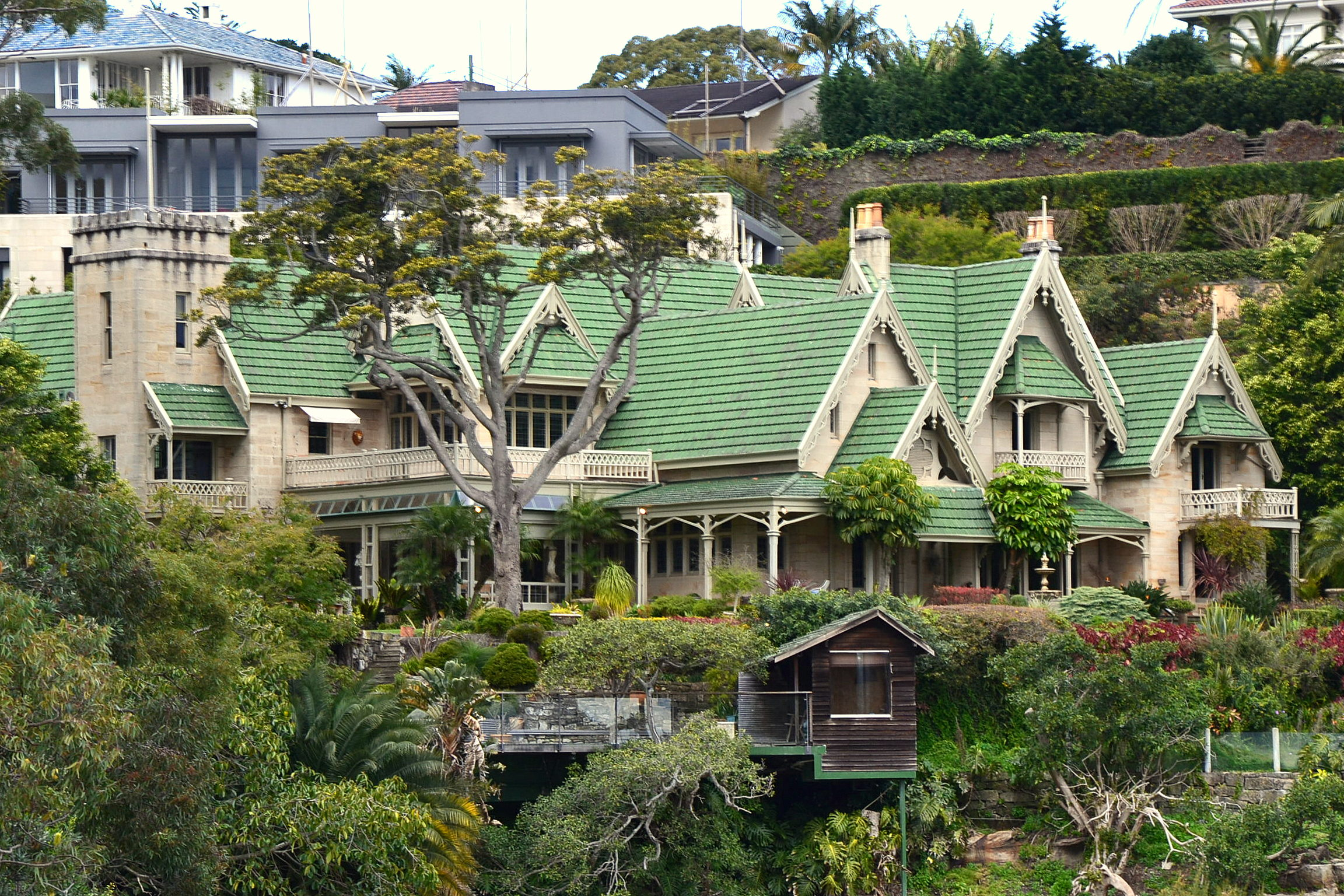 Victorian Home Floor Plan Vaucluse New South Wales