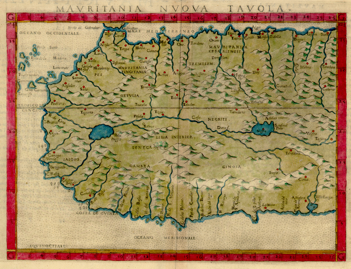 File:1561 map of West Africa by Girolamo Ruscelli.JPG ... on