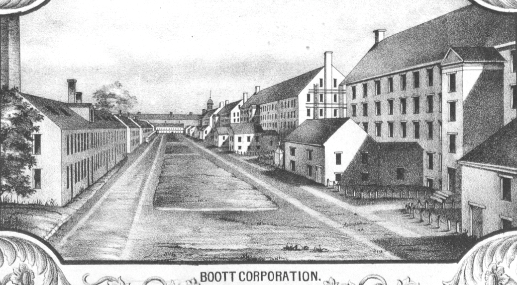 An analysis of the industrial revolution by boott mills