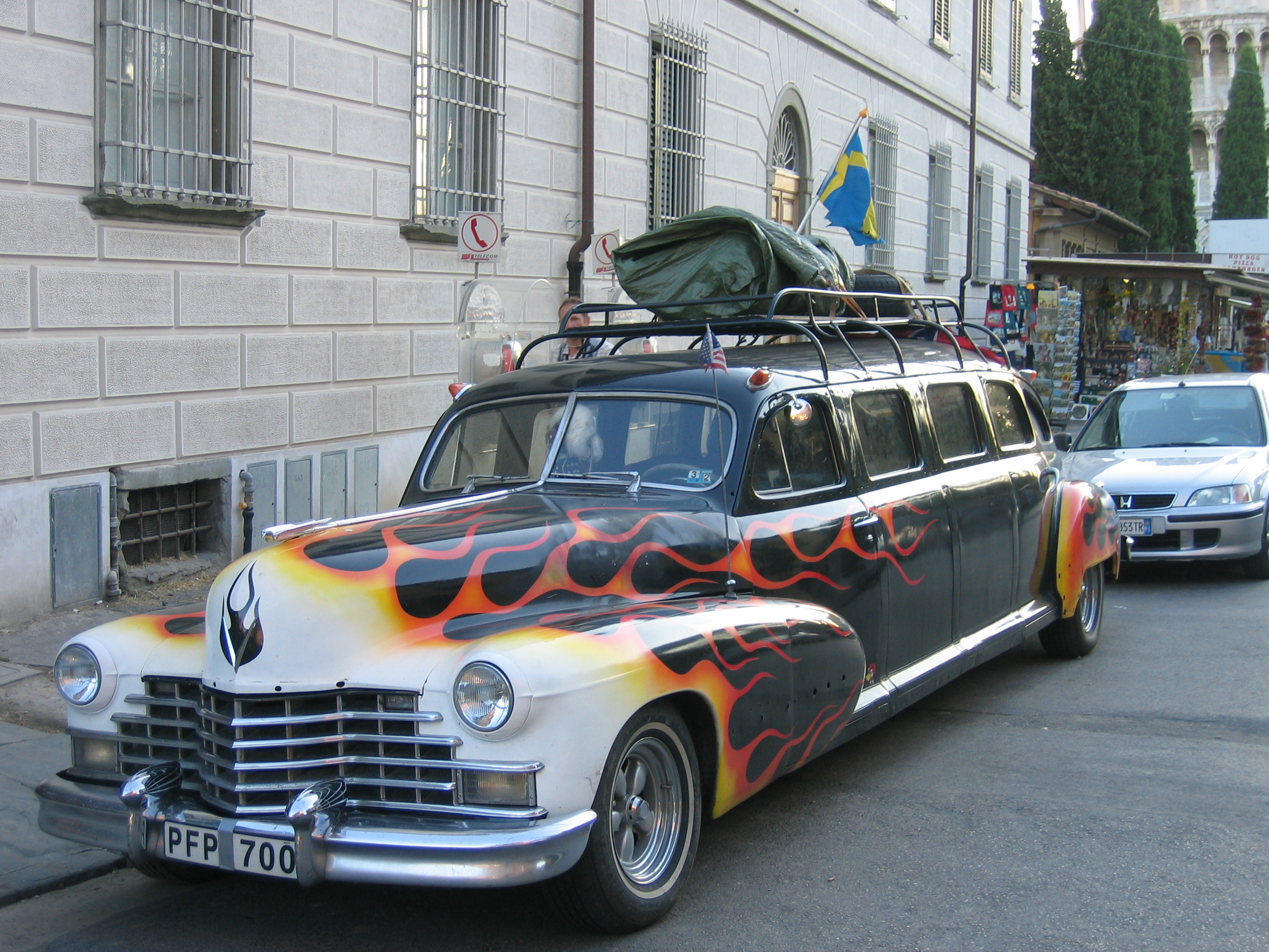 Vintage Hearses Funeral Coaches And Flower Cars On Main Street