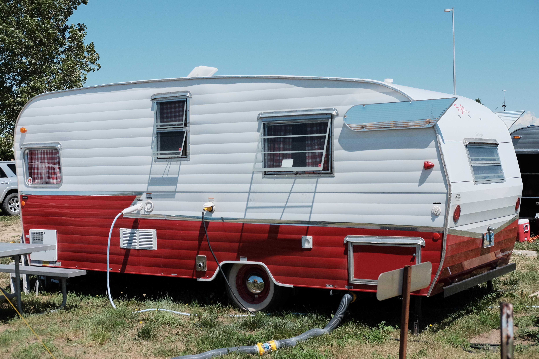 File:1958 Shasta travel trailer during 2019 Vintage Camper ...