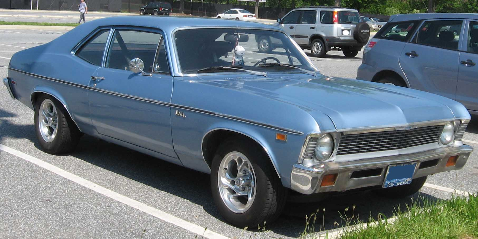 Chevy Malibu 2012 >> File:1972 Chevrolet Nova.jpg - Wikipedia